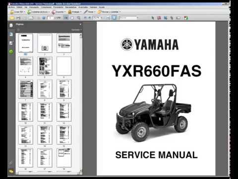 2007 yamaha rhino 660 service manual expert user guide u2022 rh manualguidestudio today