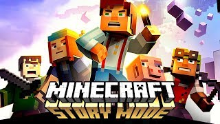 MINECRAFT STORY MODE ON A ROBLOX CHANNEL