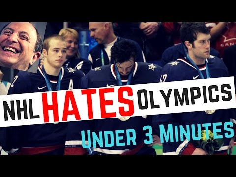 Why The NHL HATES The OLYMPICS