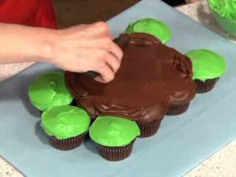 Pull Apart Turtle Cupcakes YouTube