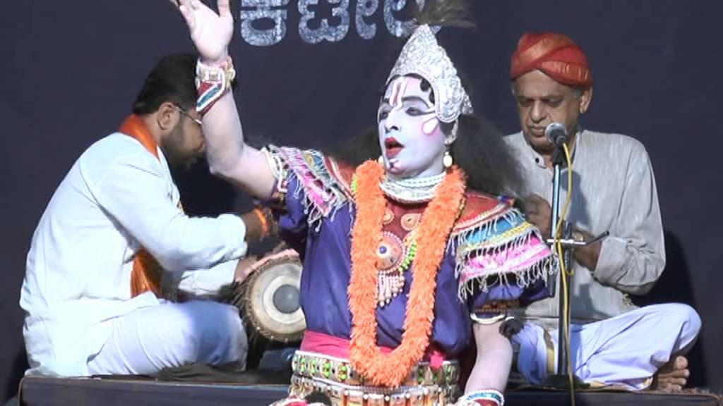 Yakshagana: Bhagavatharu Kubanoor Sridhar Rao - YouTube