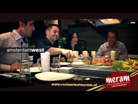 Reclame meram restaurant amsterdam at5 youtube for Meram restaurant amsterdam