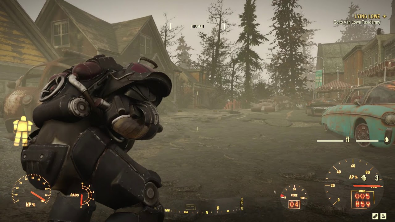 Fallout 76 Part 463 Lying Lowe Van Lowe Taxidermy 60fps First Time Play No Commentary Youtube