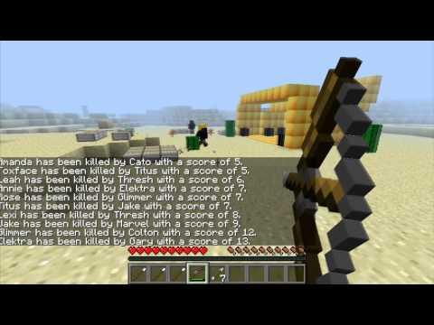 Minecraft Nova Série [ALTERANDO MINECRAFT] Mod Do Jogos Vorazes