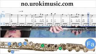lr  spille flyte harry potter - hedwig's theme melodi trening um-i935