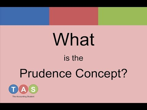 what is prudence in accounting