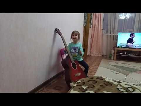 На гитаре Лада седан