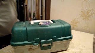 Ящик рибальський Три Кити ЯР-3.Відмінний бюджетний ящик підходить для будь риболовлі.