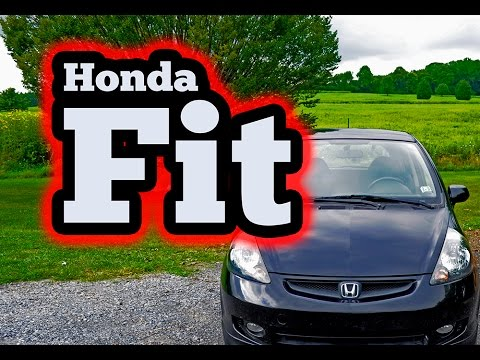 Regular Car Reviews: 2007 Honda Fit