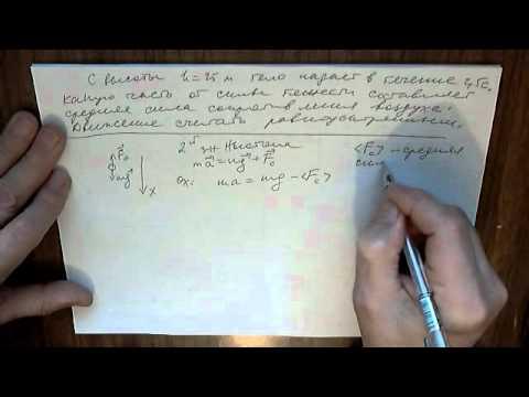 Как найти силу сопротивления в физике