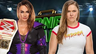 WWE Money in the Bank 2018 - Ronda Rousey vs Nia Jax - WWE RAW Women's Championship Match