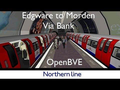 London Underground Simulator OpenBVE Northern Line