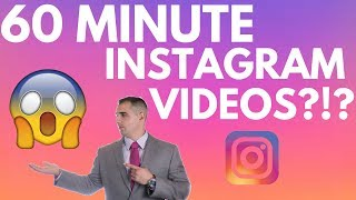 NEW INSTAGRAM IGTV UPDATE! 60 MINUTE VIDEOS AND MONETIZATION? 😱😍🎥 Click Leads Local