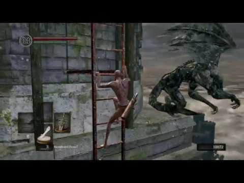 Dark Souls: Black Knight Greatsword All Bosses Speedrun