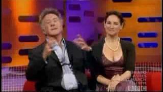 Dustin Hoffman tells a dirty joke
