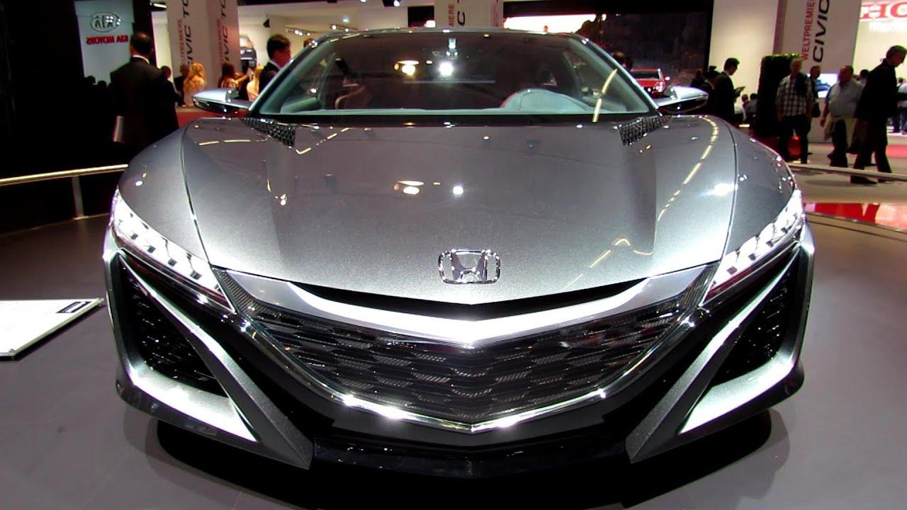 2014 Honda NSX Concept   Exterior Walkaround   2013 Frankfurt Motor Show    YouTube