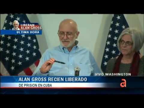 Alan Gross habla por primera vez en libertad  - EEUU - CUBA