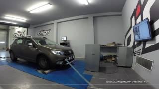 Dacia Sandero 1.5 dci 90cv Reprogrammation Moteur @ 117cv Digiservices Paris 77 Dyno