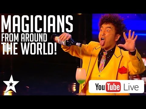 MAGICIAN'S FROM AROUND THE WORLD! Got Talent Global