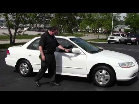 Used 2002 Honda Accord EX-L V6 Sedan for sale at Honda Cars of Bellevue...an Omaha Honda Dealer!