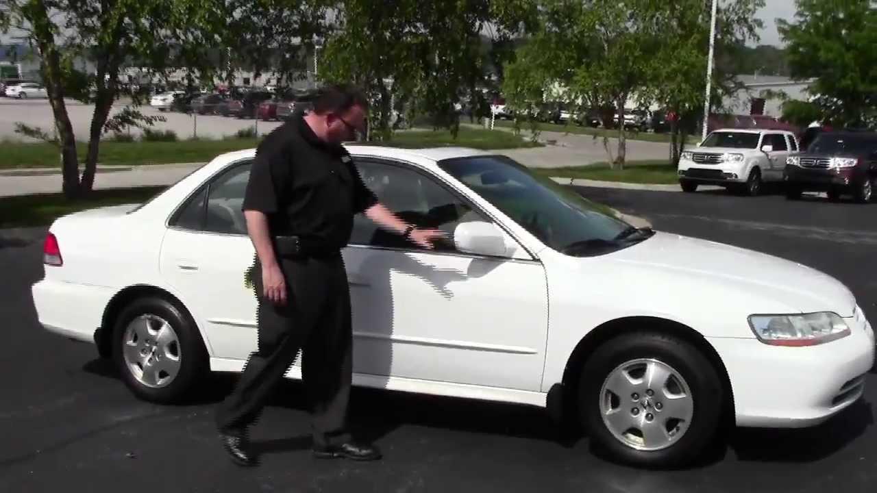 medium resolution of used 2002 honda accord ex l v6 sedan for sale at honda cars of bellevue an omaha honda dealer youtube