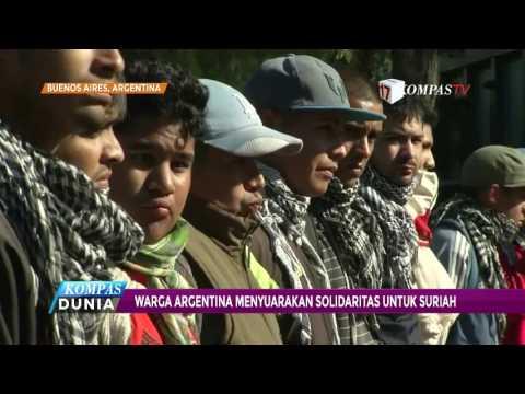 Warga Argentina Gelar Aksi Solidaritas untuk Suriah
