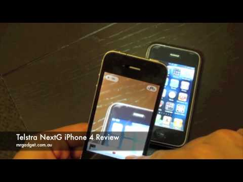 Telstra NextG iPhone 4 Video Review
