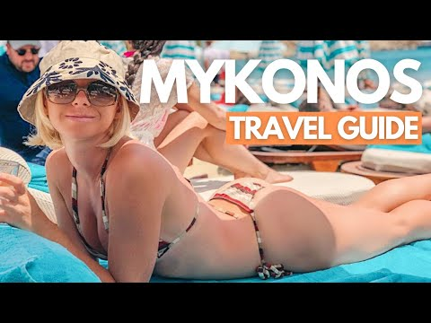 MYKONOS GREECE TRAVEL GUIDE I TOP THINGS To Do In 2021 I Greece Travel