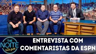 Entrevista com Rômulo Mendonça, Everaldo Marques, Paulo Mancha e Paulo Antunes| The Noite (04/09/18)