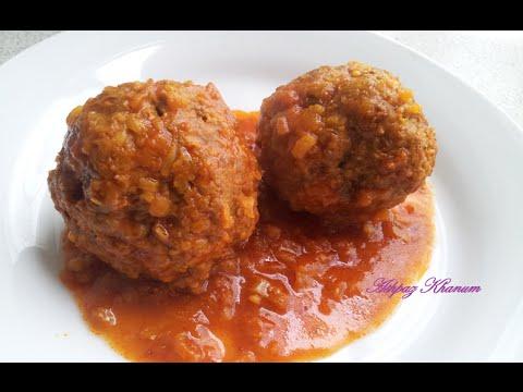 Koofte -  Persian Meatballs Recipe - کوفته