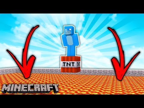 WHO EVEN LIKES TNT .... Minecraft Challenge w/ Sharky and Scuba Steve
