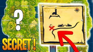SECRET CARTE at ANARCHY ACRES TRESOR on Fortnite: Battle Royale
