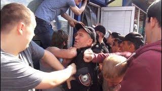 Хрюши против - заложники на москворецкой базе