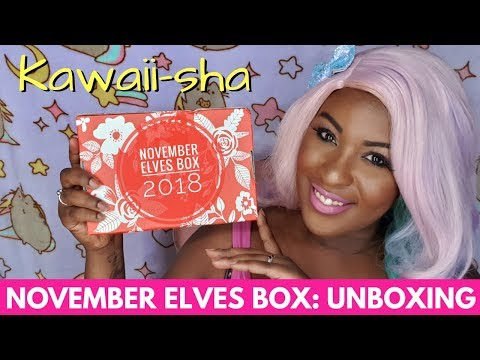 Kawaii-sha: Sophie and Toffee November 2018 Elves Box