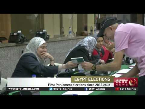 Voting begins in Egypt's parliamentary election