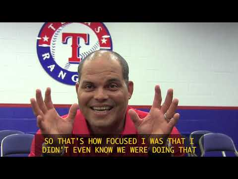 Pudge Remembers Kenny Rogers Perfect Game