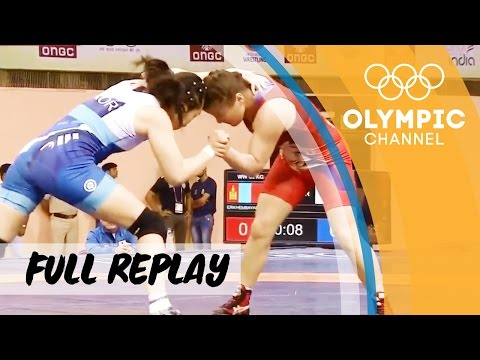 RE-LIVE   Wrestling Day 3   Asian Championships   Finals Freestyle Women