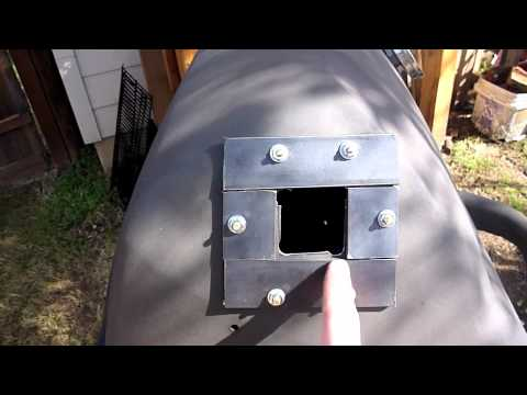 How To Convert Broken Propane Tank Grill Into Charcoal