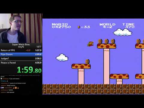 Super Mario Bros. Any% Speedrun - 4:56.69 *Personal Best*