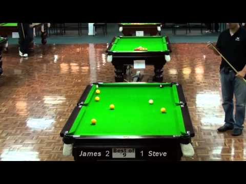 Geelong Open 8 Ball 2010 Final James Mifsud V Steve Mifsud
