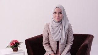 Hijab Tutorial 65 'Office Look' by Zahratul Jannah