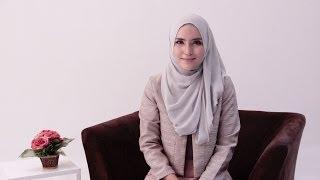 Hijab Tutorial Office Look by Zahratul Jannah