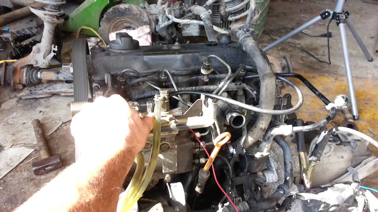 Vw 1 9 Sdi aey motor with vw 1 6 D proportioner