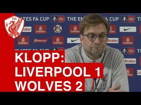 Liverpool 1-2 Wolves: Jurgen Klopp's Post-Match Press Conference