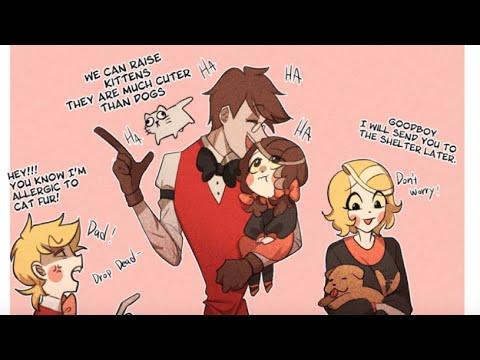 [Hazbin Hotel Comic Dub] Alastor The Family Man (Charlastor Ship)