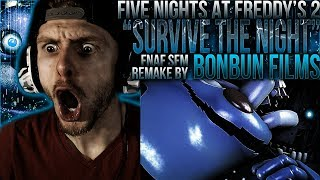 Video Vapor Reacts #611 | [SFM] FNAF 2 SONG ANIMATION Survive The Night Remake by BonBun Films REACTION! download MP3, 3GP, MP4, WEBM, AVI, FLV Mei 2018