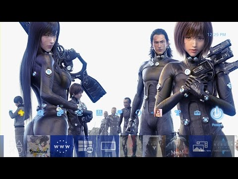 Gantz: O PS4 Theme 1 (Japan Exclusive) : gantz