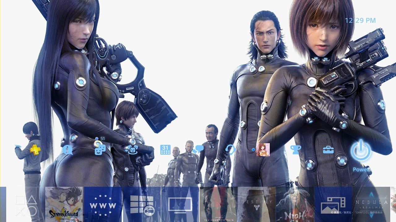 All Anime Characters Wallpaper Gantz O Theme 1 Ps4 Youtube