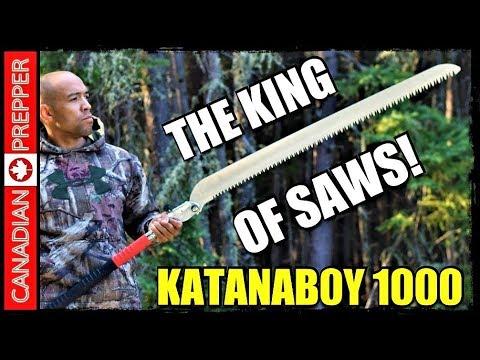 Katanaboy 1000: Worlds Fastest, Largest, Sharpest Hand SAW
