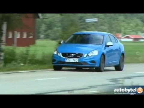 2013 Volvo S60 T6 R-Design Polestar AWD Test Drive & European Sports Sedan Car Video Review